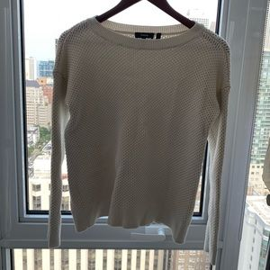 Theory cotton sweater size small